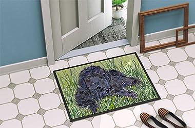 """Caroline's Treasures SS8872MAT Newfoundland Indoor Outdoor Doormat, 18"""" x 27"""", Multicolor"""