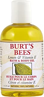 Burt's Bees: Lemon & Vitamin E Bath & Body Oil, 4 oz