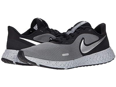 Nike Revolution 5 Premium (Black/Chrome/Smoke Grey) Men