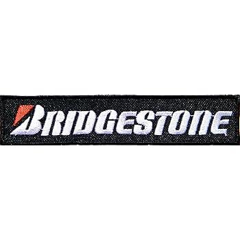 `BRIDGESTONE` MOTOR SPORT SEW OR IRON ON PATCH