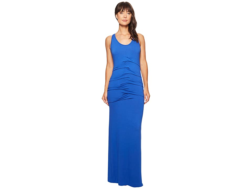 Nicole Miller Simple Maxi Dress (Blueberry) Women
