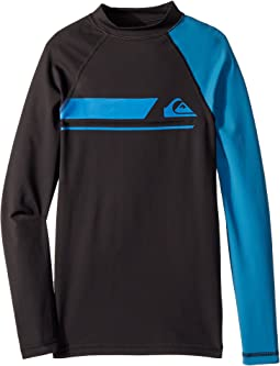Quiksilver Kids Active Long Sleeve Rashguard (Big Kids)