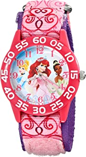 Kids' W001667 Princess Analog Display Analog Quartz Pink Watch