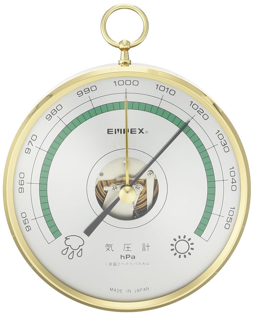 大破刺激する適合するエンペックス気象計 予報官(気圧計) BA-654