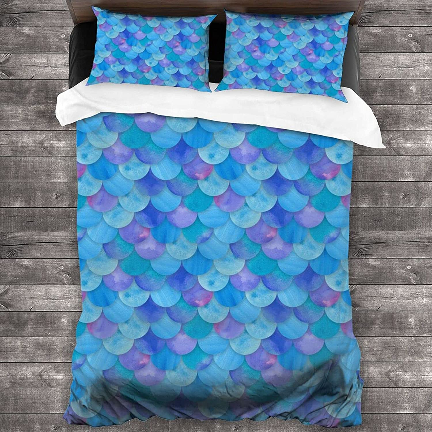 KAMIZE Mermaid Courier shipping free shipping Quilt Discount is also underway Set Single-Sided Super Bedspread S Bedding
