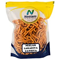 Neelam Foodland LAKADIYA GATHIYA (250G)