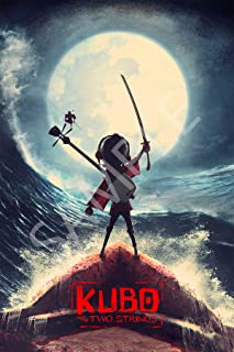 Best Print Store - Kubo and The Two Strings, Animation Poster (11x17 inches)