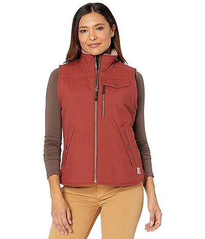 Carhartt Utility Sherpa Lined Vest (Redwood) Women