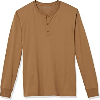 Marca Amazon - Goodthreads Cotton Long-sleeve Henley - henley-shirts Hombre