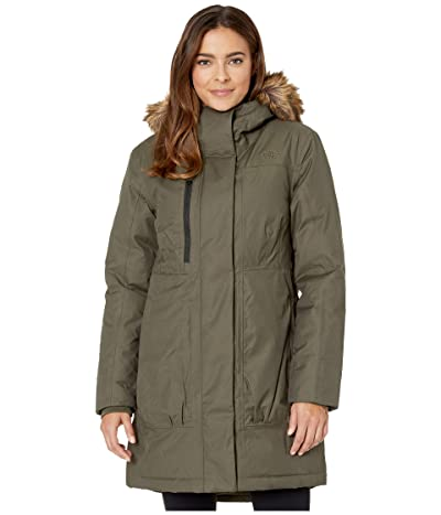 The North Face Downtown Parka (New Taupe Green) Women