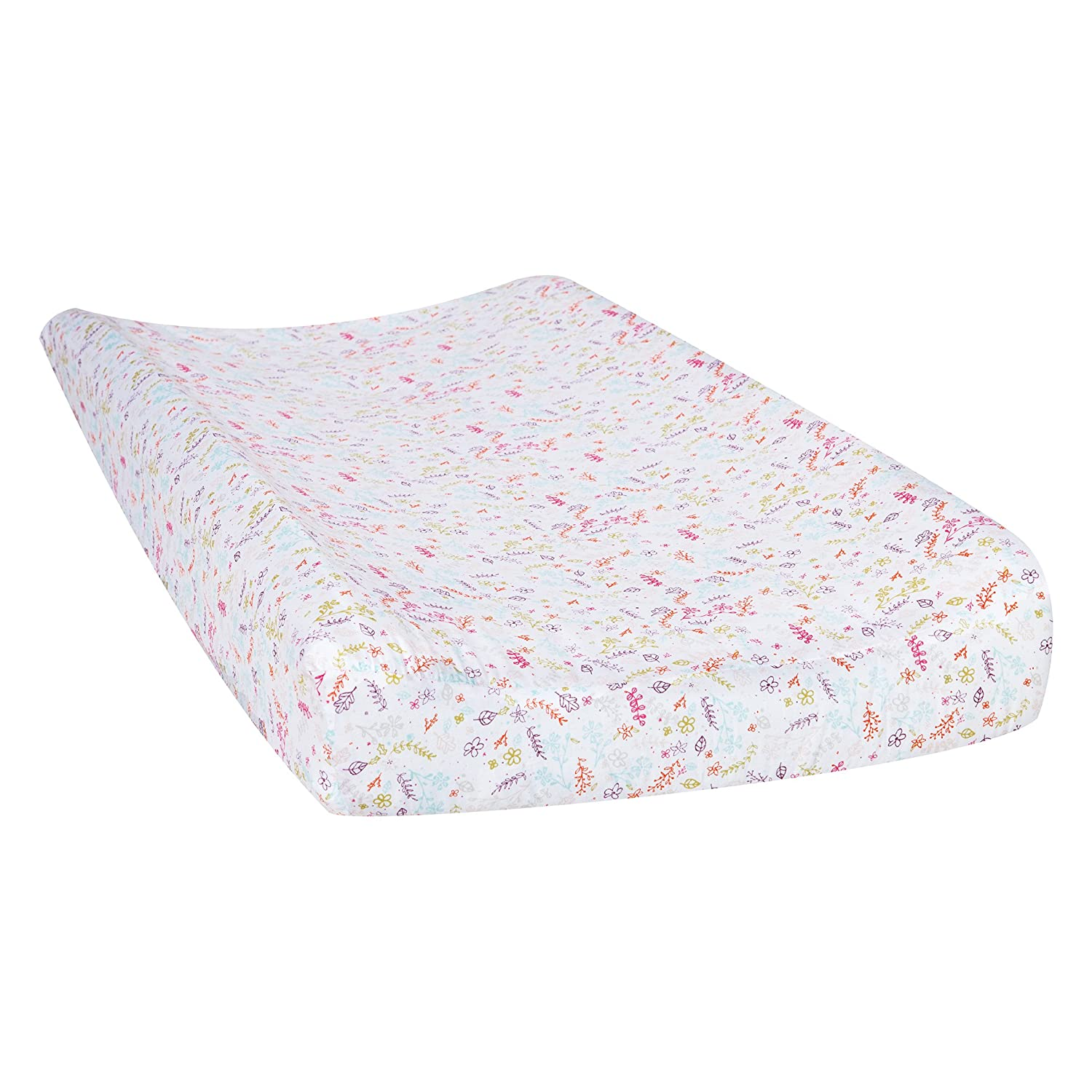 Wild Forever Floral Changing Pad Cover