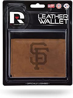 Rico Industries MLB unisex-adult Wallet Trifold Leather Embossed