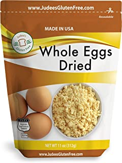 Judee's Whole Egg Powder (11 oz)(Non-GMO, Pasteurized, Made in USA, 1 Ingredient no additives, Produced from the Freshest of Eggs)