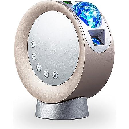Projecteur Étoile, NXENTC Veilleuse LED Projecteur Ciel Galaxie Nuage Lune Veilleuse pour Chambre/Fête/Domicile/Théâtre