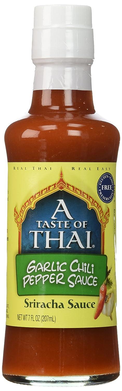 A Taste of Thai Max 62% OFF Popularity Garlic Chili 7 Sauce fl oz Pepper