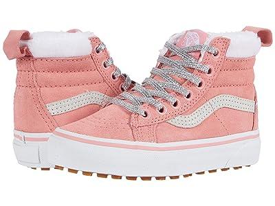 Vans Kids SK8-Hi MTE (Little Kid) ((MTE) Flamingo Pink/Holographic) Girl