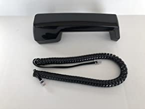 The VoIP Lounge Replacement Handset with 12 Foot Cord for AT&T Lucent Avaya Merlin BIS Series Phone Black BIS-10 BIS-22 BIS-22D BIS-34 BIS-34D 5-Button 10-Button SP-34 Black