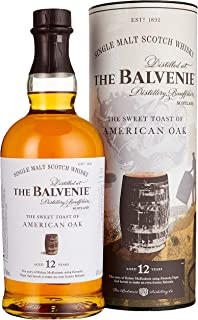 Balvenie The 12 Years Old The Sweet Toast of AMERICAN OAK Whisky 1 x 0.7 L