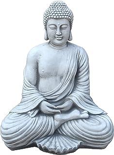 SUPVOX Bouddha Statue R/ésine Bouddha Maitreya Bouddha Sculpture Figurine Th/é Ornements Decoration de Table Maison Bureaux