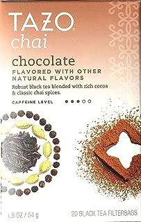 Tazo Chai Tea Chocolate -- 20 Tea Bags