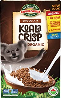 Nature's Path EnviroKidz Koala Crisp Chocolate Cereal, Healthy, Organic, Gluten-Free, 11.5 Ounce Box (Pack of 6)