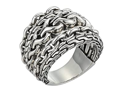 John Hardy Asli Classic Chain Link Ring (Silver) Ring