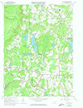 YellowMaps Lake Ariel PA topo map, 1:24000 Scale, 7.5 X 7.5 Minute, Historical, 1966, Updated 1974, 26.9 x 22.1 in
