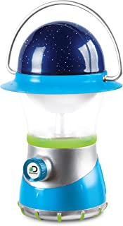 DISCOVERY KIDS 2-in-1 4X LED Starlight Lantern and Star Projector, Indoor Use, 2 Modes:..