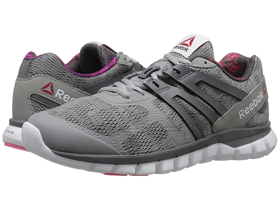 Reebok Sublite XT Cushion MT (Tin Grey/Shark/Solar Pink/White) Women