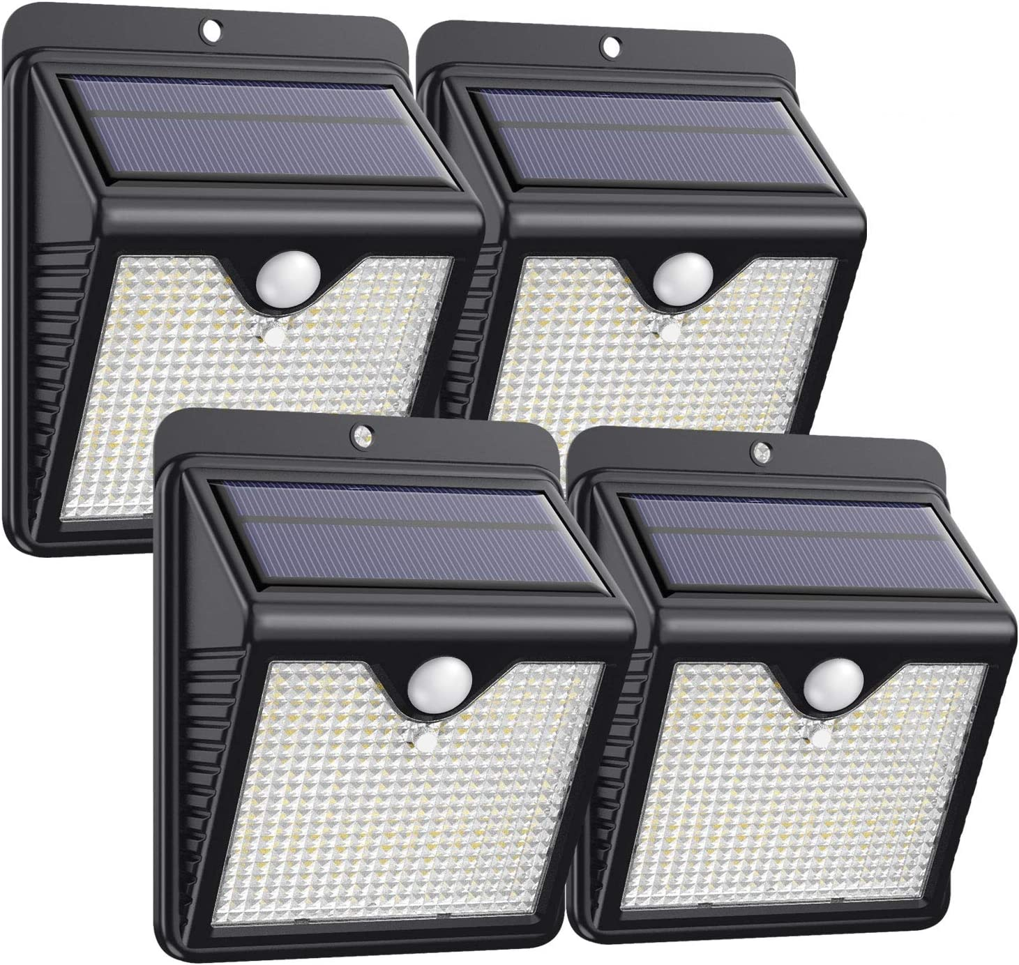 Solar Lights Super intense SALE Max 43% OFF Outdoor 4Pack - Bright Securit 150LED