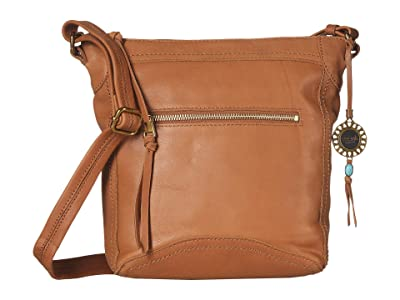 The Sak Tahoe North/South Crossbody The Sak Collective (Tobacco) Cross Body Handbags