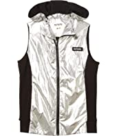 Duo Nylon Hooded Vest (Little Kids/Big Kids)