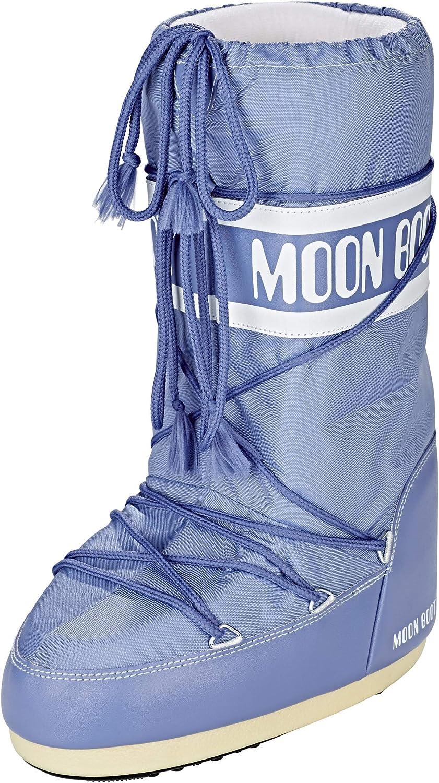 Moon-boot Unisex Adults'^Unisex Adults Snow Boots, Blue Avio 078, 5.5 UK