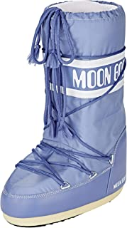 Moon-boot Nylon, Bottes de Neige Mixte Adulte, Bleu (Avio 078), 35 EU