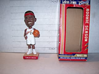 2004 LEBRON JAMES GUND ARENA 1ST(ROOKIE) BOBBLEHEAD EMPLOYEES ISSUE CAVALIERS