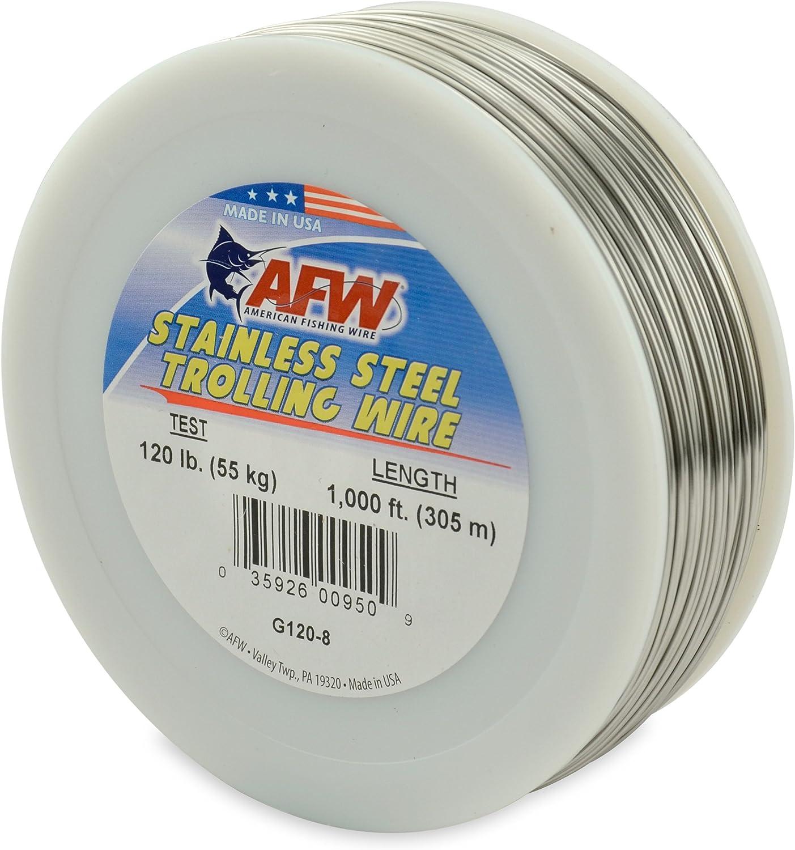 American Fishing Wire Crimph/ülsen f/ür Einzelzylinder.