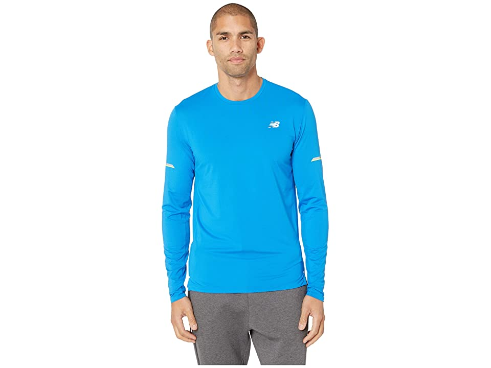 New Balance NB Ice 2.0 Long Sleeve Top (Laser Blue) Men