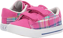 Sport Pink/Madras Plaid/Canvas/White Pony