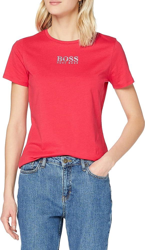 Boss,maglietta, t-shirt per donna,100% cotone 50442515