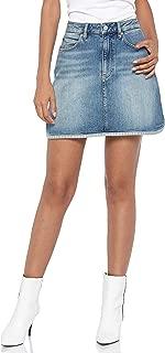Calvin Klein Women's J20J208806-Denim Calvin Klein A Line Skirt For Women - Denim