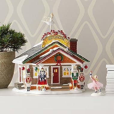 Department 56 Snow Nutcracker House Village Lit Building, 9.250, Multicolor