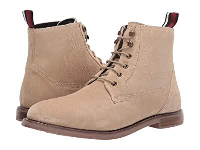Ben Sherman Birk Plain Toe Boot (Sand Suede) Men