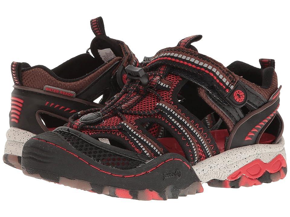 Jambu Kids Piranha (Toddler/Little Kid/Big Kid) (Brown/Red) Boys Shoes
