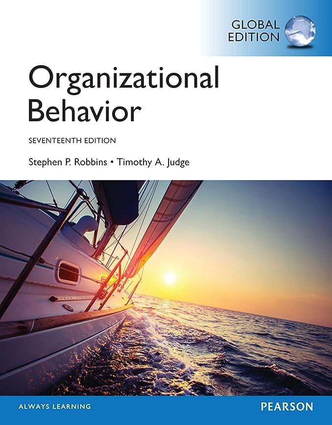 つかまえる保全肝Organizational Behavior, Global Edition (English Edition)