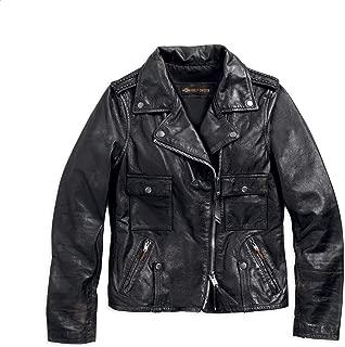 vintage harley davidson biker jacket