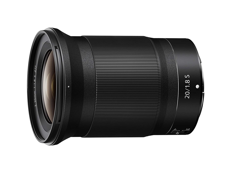 NIKON NIKKOR Z 20mm f/1.8 S Ultra Wide Angle Fast Prime Lens