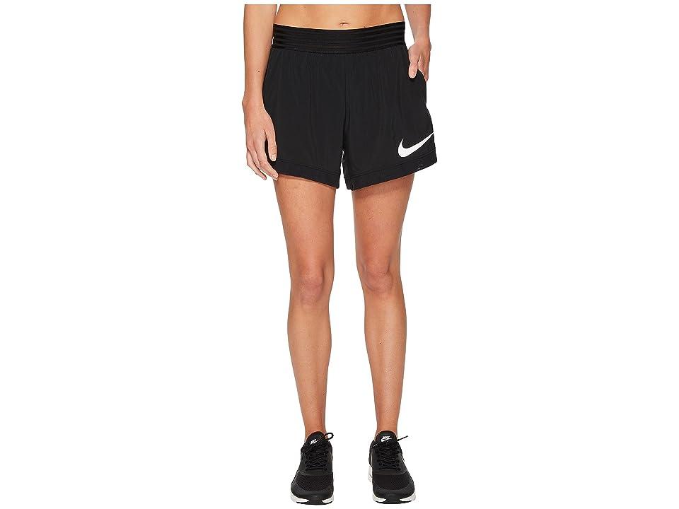 Nike Flex Training Short (Black/White) Women
