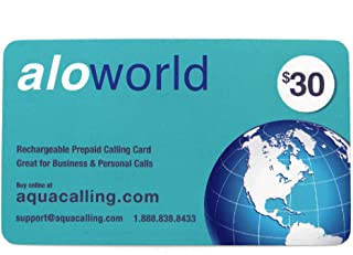 Prepaid Phone Card $30 for Domestic & International Calls - Calling Card with No Surcharge from Any Public Payphone.