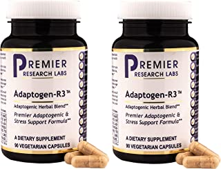 Premier Research Labs Adaptogen-R3, 90 Count (Pack of 2)