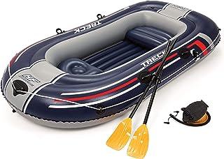 Bestway Hydro-Force - Barca raft naviga para 2 personas, con remos y bomba de pie